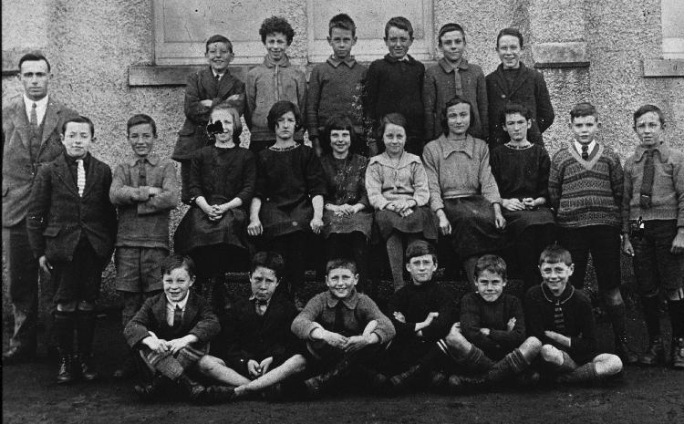 Mallaig School pupils about 1929