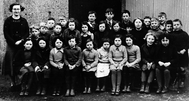 Mallaig Primary School Pupils about 1936