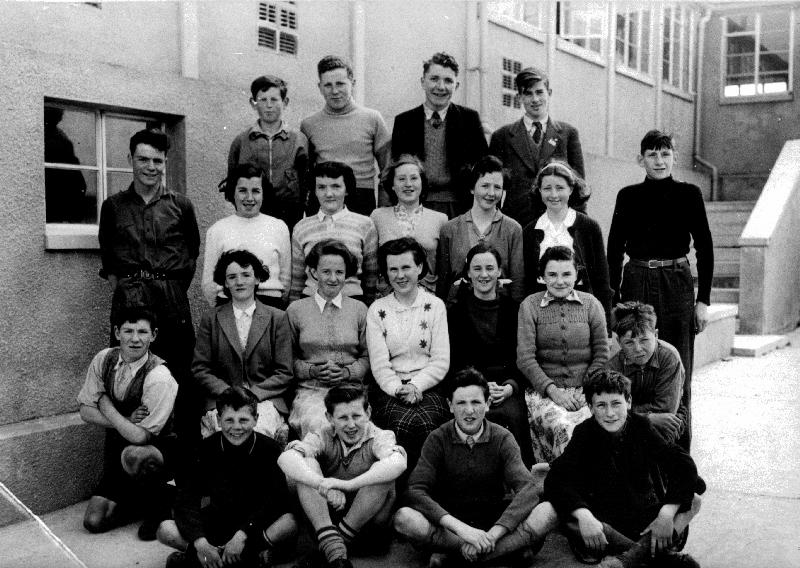 Secondary School pupils, about 1953