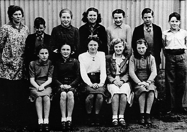 Mallaig School about 1947