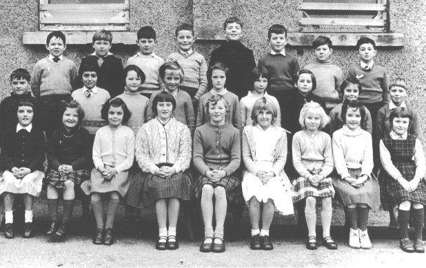 Mallaig School Pupils about 1963
