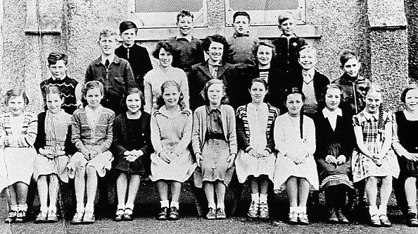 Mallaig School about 1950