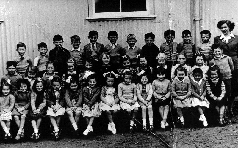 Mallaig Primary School pupils, about 1949