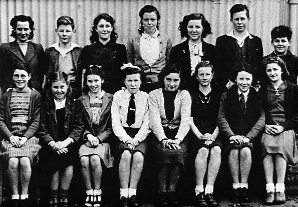 Mallaig School Pupils about 1948