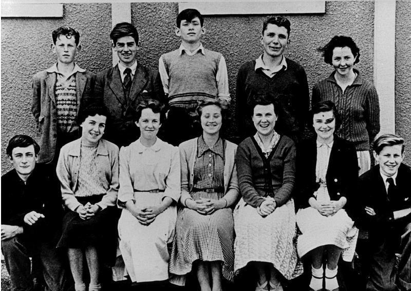 Senior pupils, about 1955