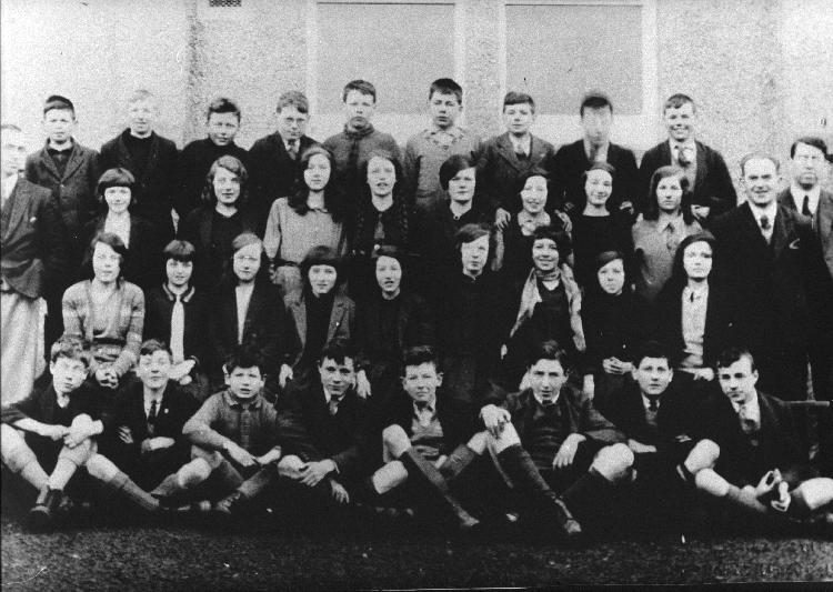 Mallaig School pupils about 1928