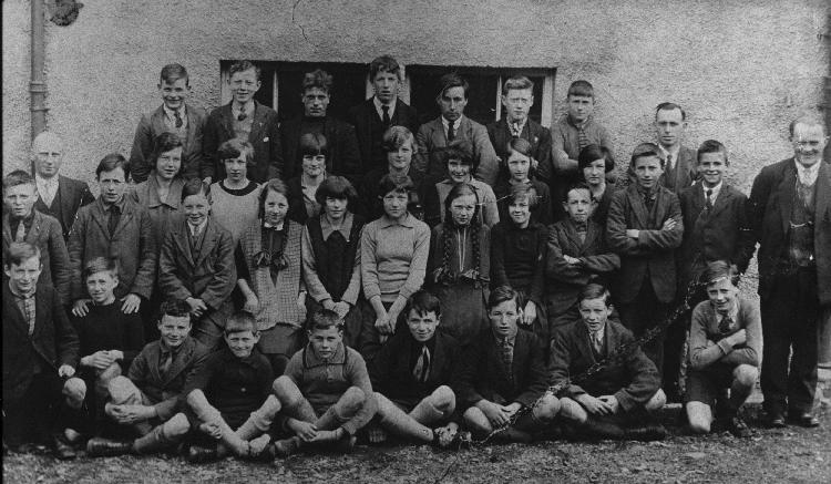 Mallaig School pupils about 1927