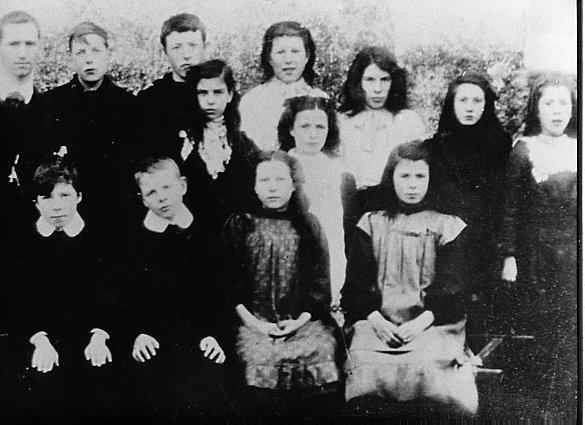 Mallaig School Pupils about 1906