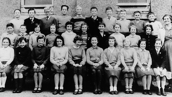 Mallaig Primary School about 1960