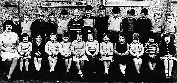 Mallaig Primary School Pupils about 1965