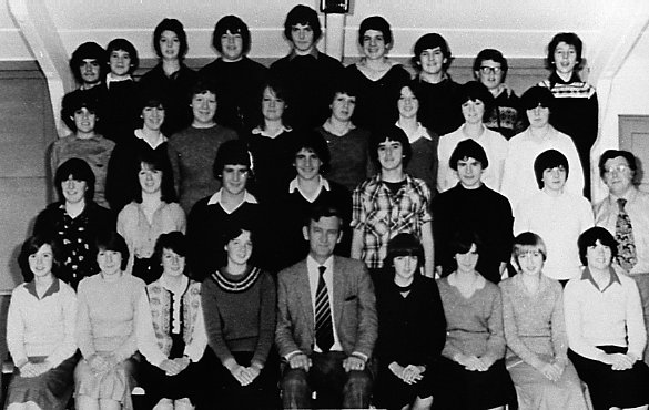 Mallaig School  Year 4 in 1980