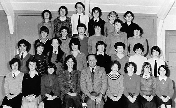 Mallaig School  Year 2 in 1980