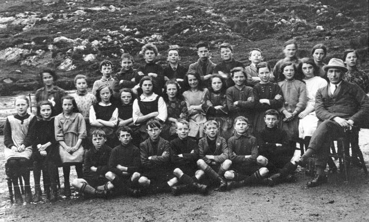 Mallaig School, probably about 1910