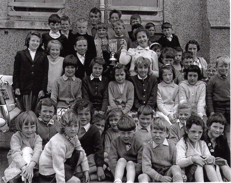 Duich House, Mallaig Primary School, 1964