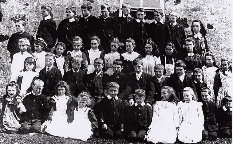 Arisaig RC School Pupils, about 1900