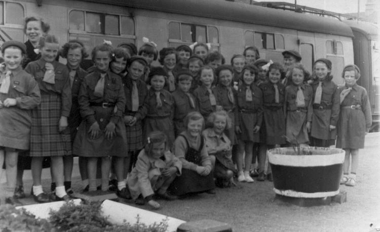 Mallaig Brownies, about 1955