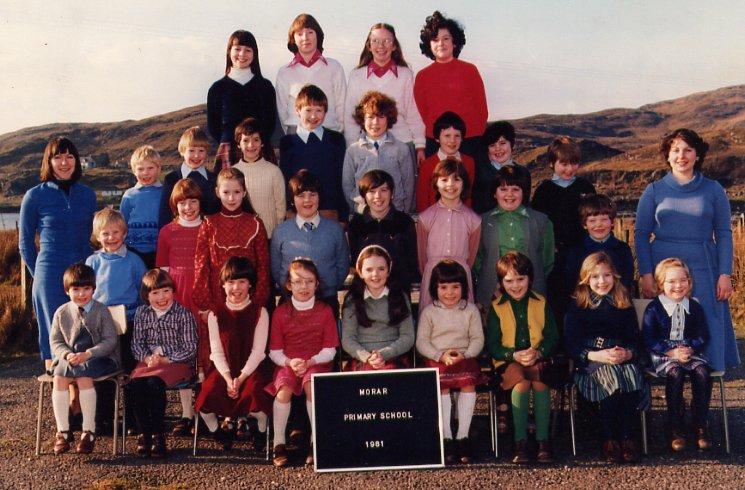Morar Primary School 1981