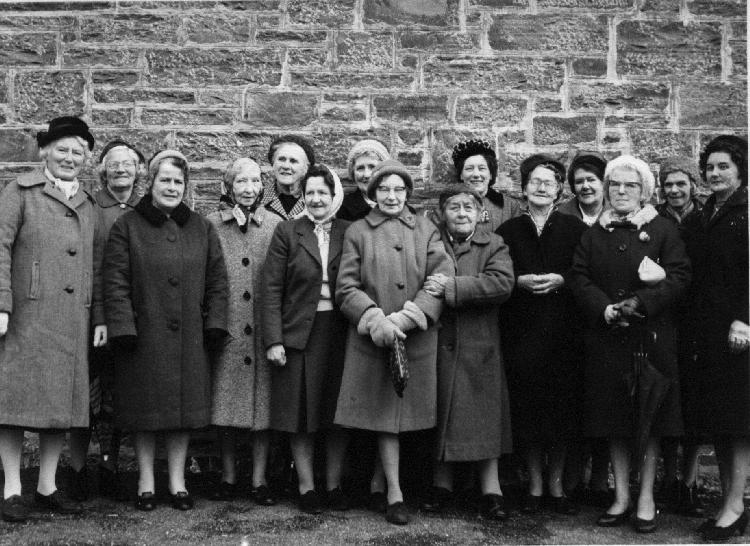 Morar Ladies, about 1975