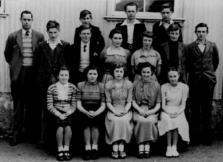 Mallaig School Pupils about 1952