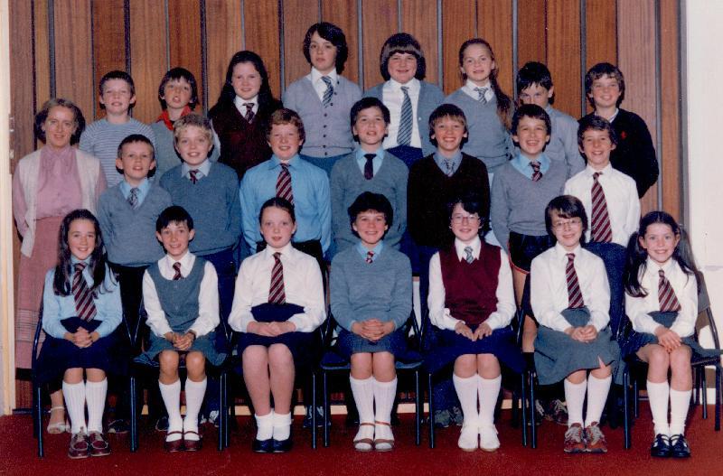 Mallaig Primary School older pupils, 1983
