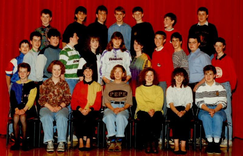 Mallaig High School pupils, 1980s