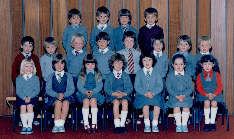Mallaig Primary School younger pupils, 1983