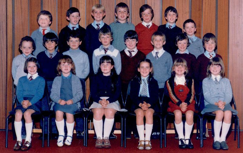 Mallaig Primary pupils 1983