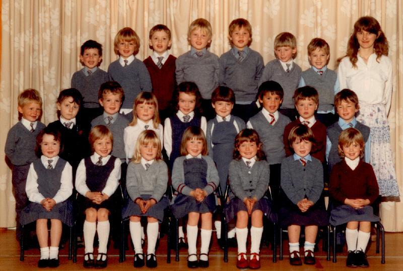 Mallaig Primary School infants, 1985