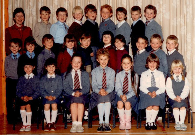 Mallaig Primary School older pupils, 1980s